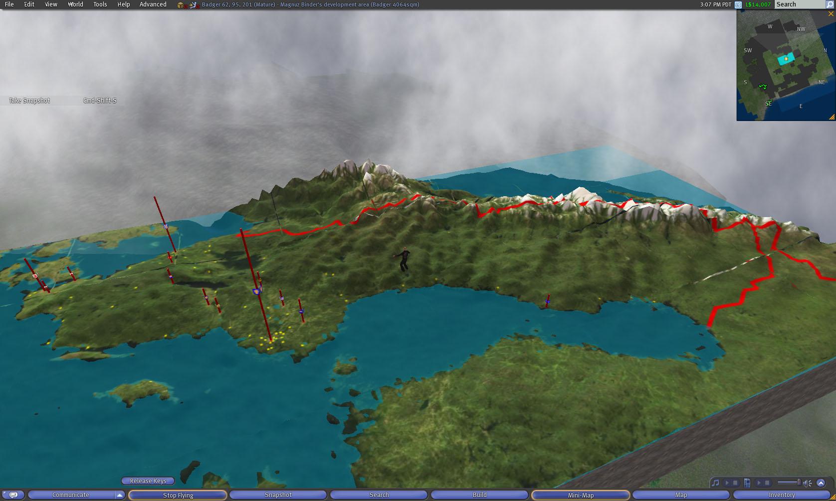 Magnuz Of Sweden Second Life Projects Sweden D Map - Sweden map län